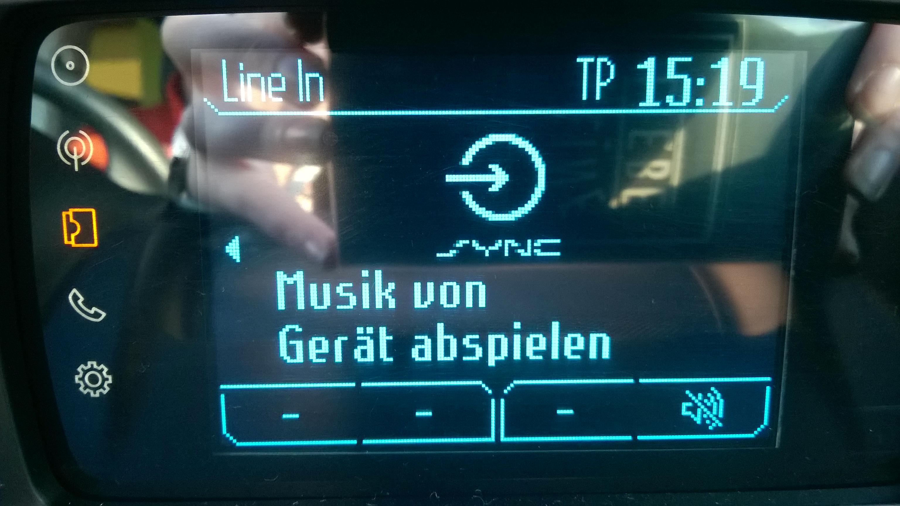 problem mit sync musikwiedergabe (ford kuga) (Bluetooth)
