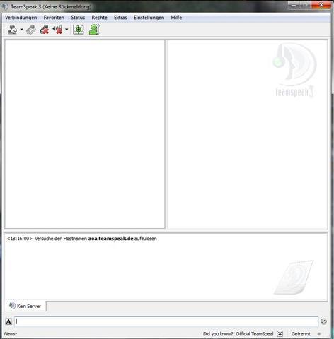 Keine Rückmeldung - (Computer, Windows 7, teamspeak3)