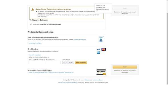 Screenshot von Amazon - (Computer, PC, Internet)