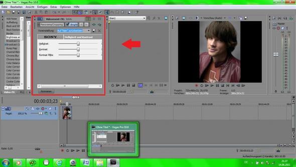 So soll es NICHT sein ^^ - (Videobearbeitung, Videoprogramm, sony-vegas-10)