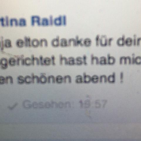 Gesehen am Mac  - (Nachrichten, Facebook massanger)