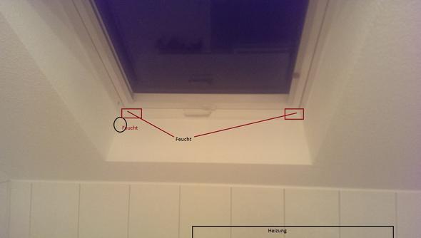 probleme mit feuchtigkeit im bad mit dachfenster winter bau fenster. Black Bedroom Furniture Sets. Home Design Ideas
