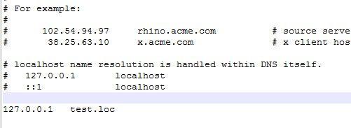 hosts - (Informatik, Windows 10, IP-Adresse)