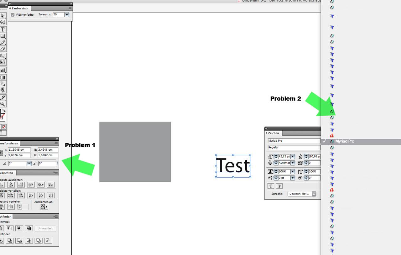 Ich habe Probleme mit MAC OS X El Capitan und Illustrator
