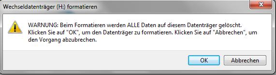 Lösch-Warnung - (Computer, PC, Windows)