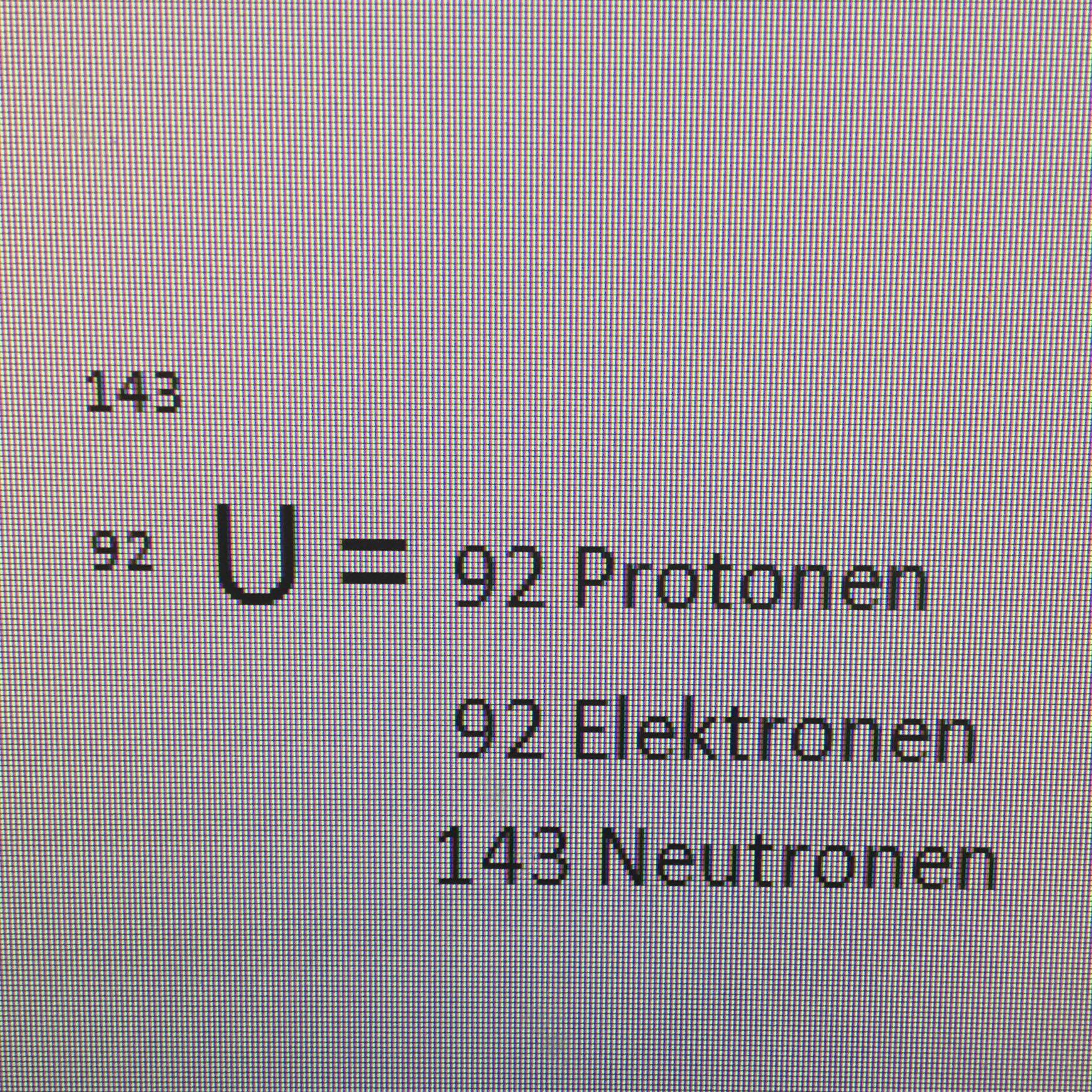 protonen neutronen und elektronen ablesen physik atom. Black Bedroom Furniture Sets. Home Design Ideas