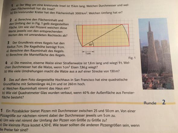 Prozentrechnung Bei Pyramiden Etc Mathematik Rechnen Geometrie