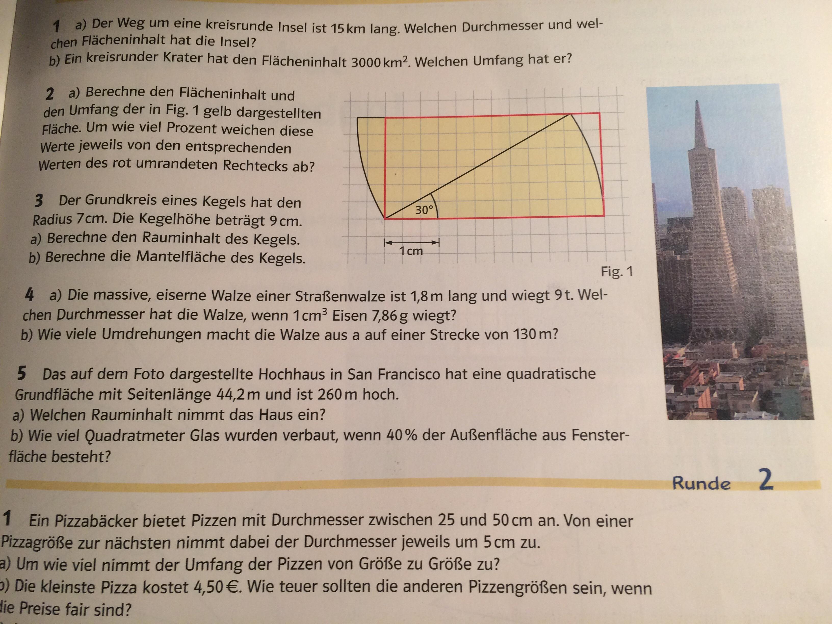 Prozentrechnung bei Pyramiden etc? (Mathematik, rechnen, Geometrie)