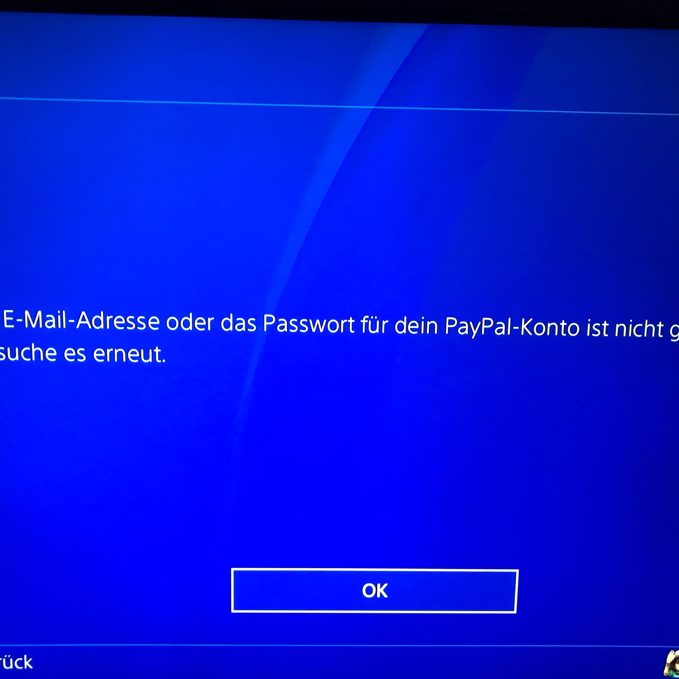 Ps Store Zahlungsart Hinzufügen Paypal Ps4 Playstation E Mail