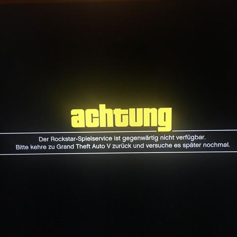 Spielservice ist gegenwärtig nicht verfügbar - (PS3, GTA 5, modmenu)