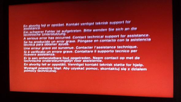 Ps3 red screen - (PS3, Playstation 3, Jailbreak)