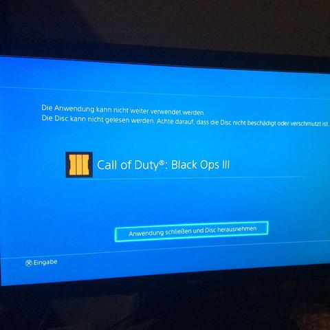 Fehlermeldung - (Computer, PS4, Playstation)