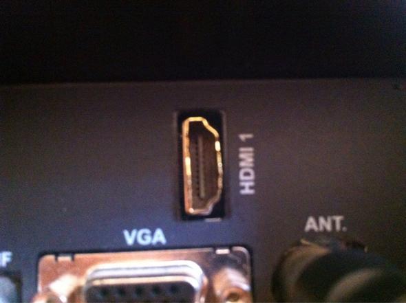 HDMI Slot auf TV - (Computer, PC, PS4)