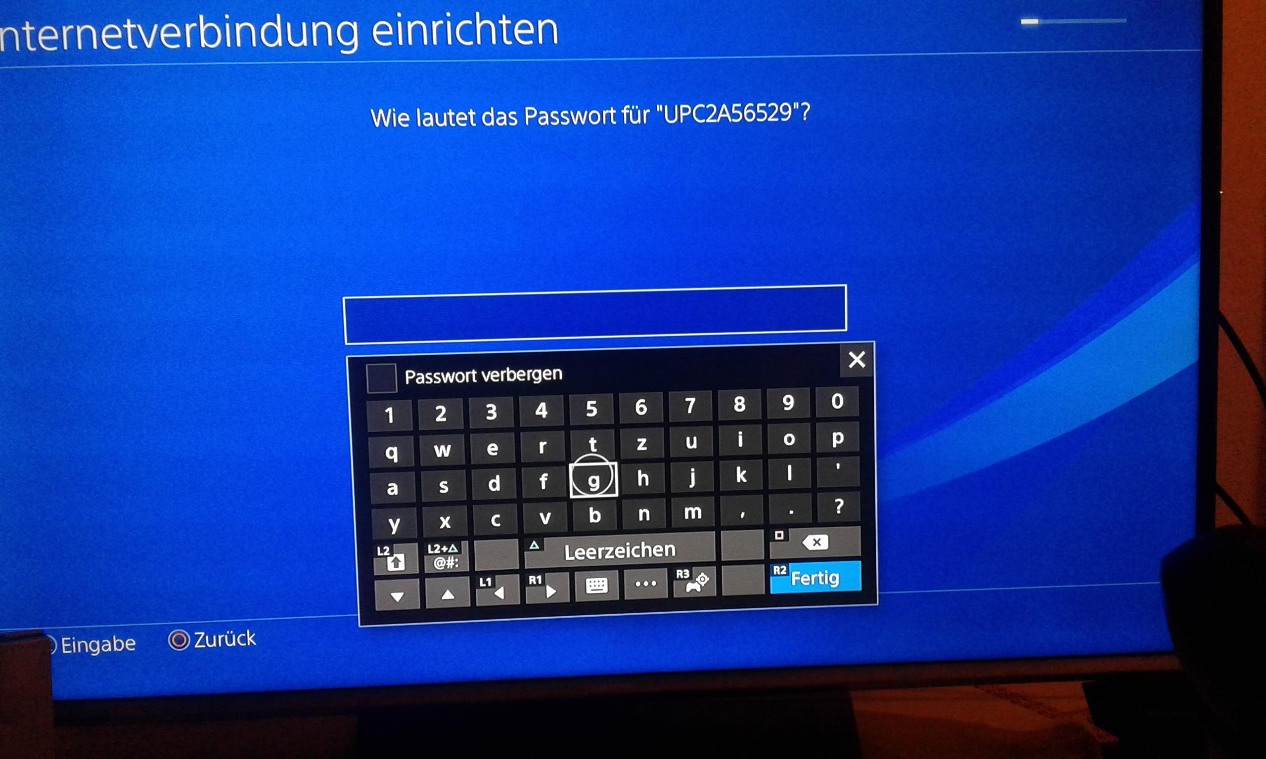 PS4 KANN KEINEN Buchstaben weckseln?
