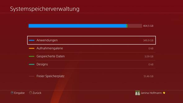 Playstation Screenshot - (Technik, Games, PS4)