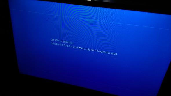 Die meldung der Überhitzung - (PS4, Sony, Garantie)