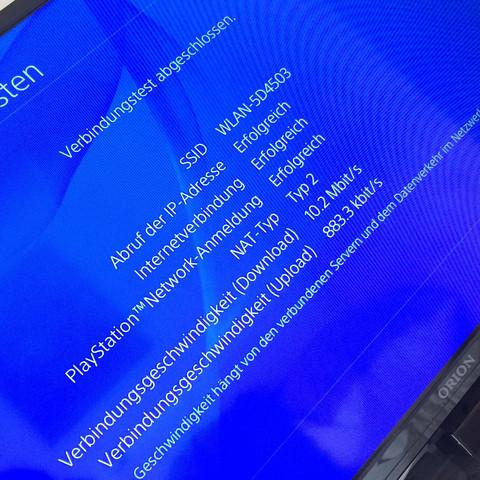 Verbindungstest - (Internet, WLAN, PS4)