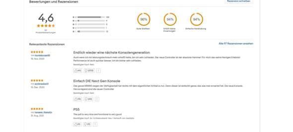 PS5 Ebay Review Massendislikes (warum) ist das etwa scam?