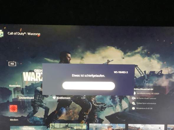 PS5 Warzone?