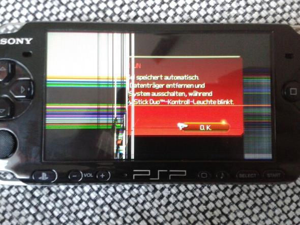 Ich wollte so gerne weiter spielen ;-; - (Reparatur, PSP)