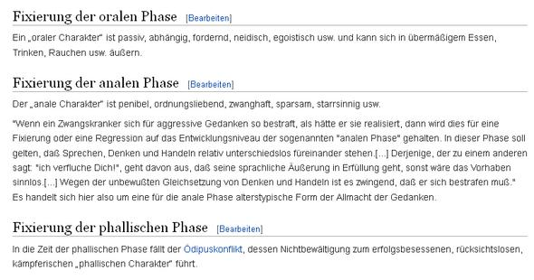 Fixierung in Phasen - (Beziehung, Psychologie, Menschen)