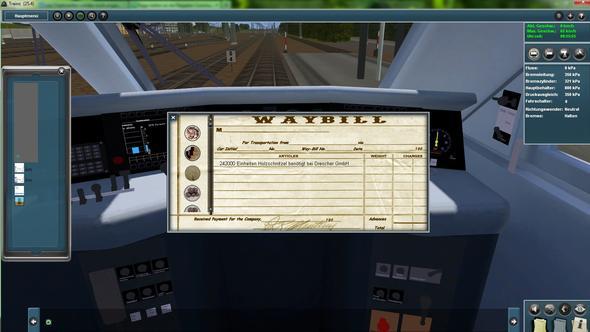 Frachtpapiere beim Passagierzug?! - (Computer, PC, Computerspiele)