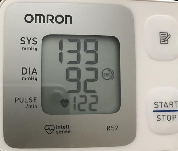Beim ruhigen Stehen... Blutdruck kann vernachlässigt werden da falsch gemessen - (Gesundheit, Arzt, Herz)