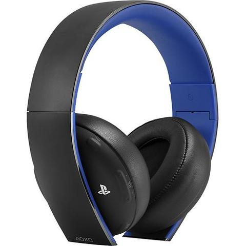 Gold Wireless Stereo Headset 2.0 - (PS3, PS4, Playstation)