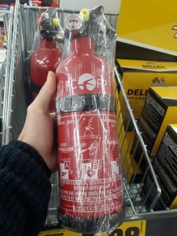 Pulverfeuerlöscher fürs eigene Zimmer?