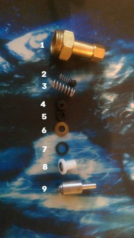 Wie kann ich die Pumpe einer Nebelmaschine zusammenbauen?
