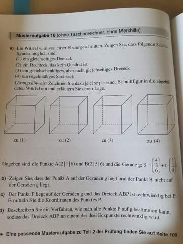 Punkt P berechnen Dreieck?