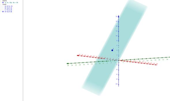 Punkt und Ebene - (Mathe, Mathematik, Analytische Geometrie)