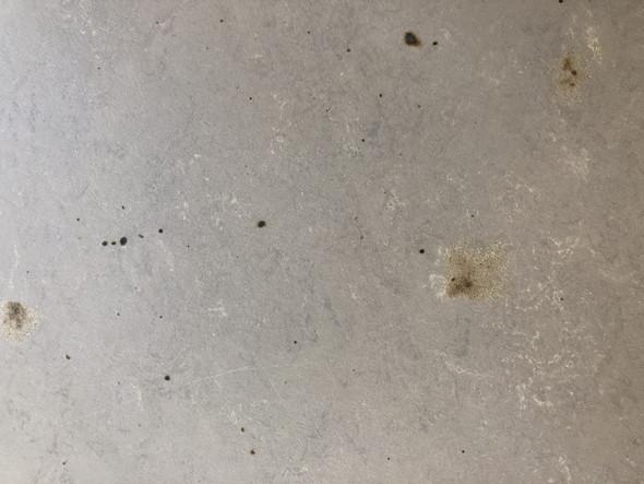 PVC? Brandflecken bearbeiten, wie am besten?