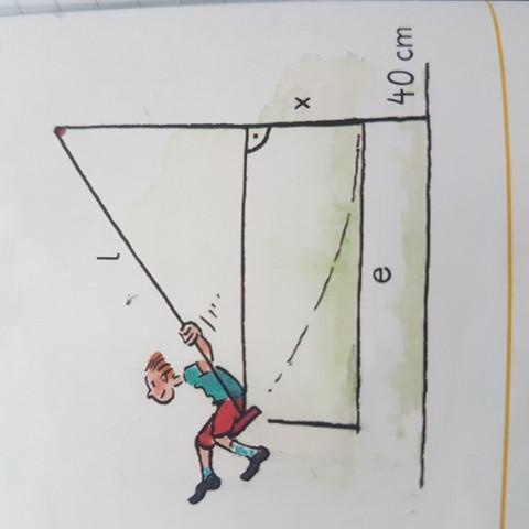 Das ist die Skizze die dabei ist - (Mathe, Pythagoras)