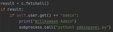 Python Tkinter Variable in subprocess übernehmen?