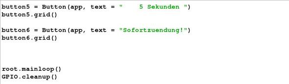 Sechster teil vom Programm - (programmieren, Python, Unix)
