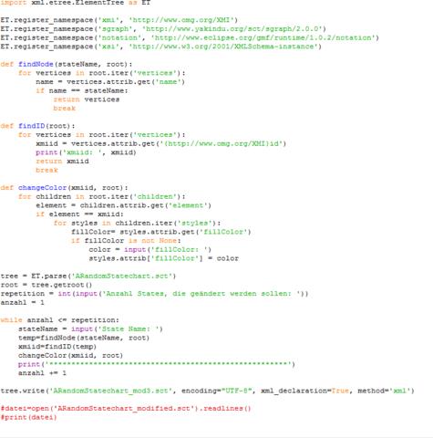 Programm - (Python, csv)