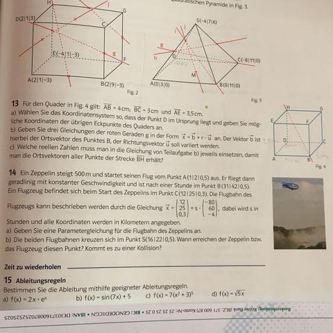 Aufgabe 13 - (Mathe, Vektoren)