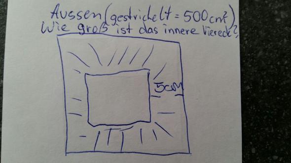 quadrat in quadrat berechnen mathe mathematik. Black Bedroom Furniture Sets. Home Design Ideas