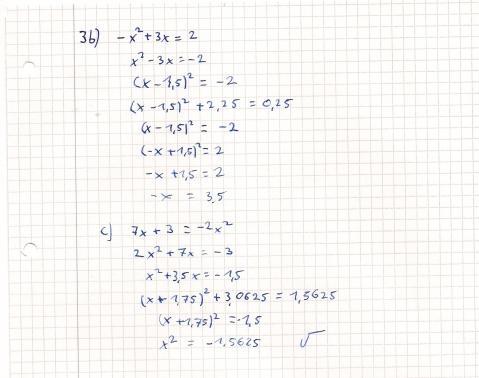 - (Mathematik, quadratische Ergänzung)