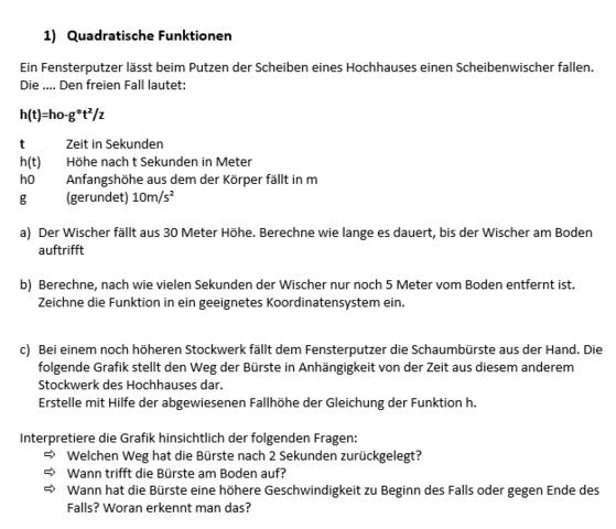 Hilfe - (Mathe, quadratische-funktion, GeoGebra)