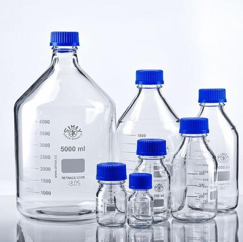 simax Laborflaschen  - (Quecksilber, Quecksilber lagern)