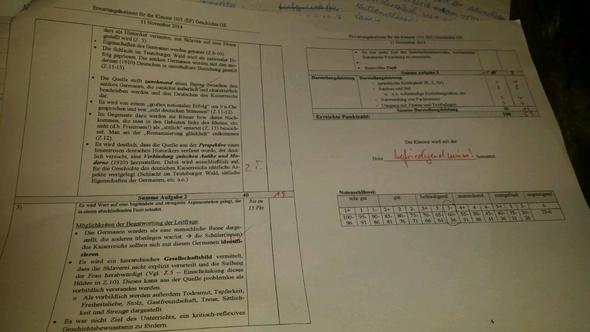 Anforderungsbereich - (Schule, Arbeit, Geschichte)
