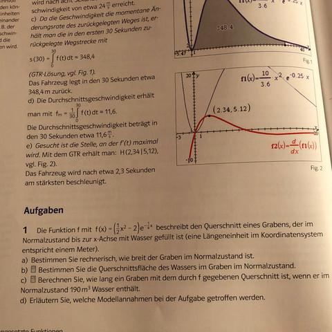 Aufgabe 1 - (Schule, Mathe, Fläche)