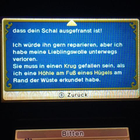 Hier das Protokoll, verstehe es irgendwie nicht so ganz. - (Games, Nintendo, 3ds)