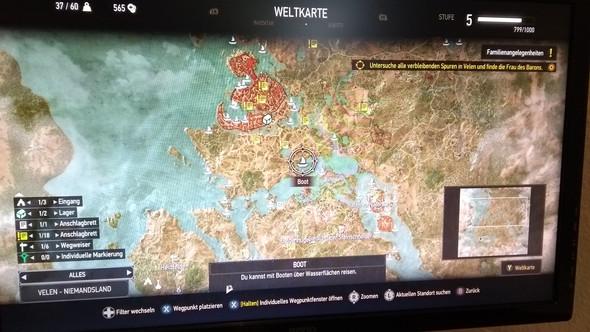 Witcher 3 Velen Karte.Quest Wird Nicht Bei Witcher 3 Auf Karte Angezeigt