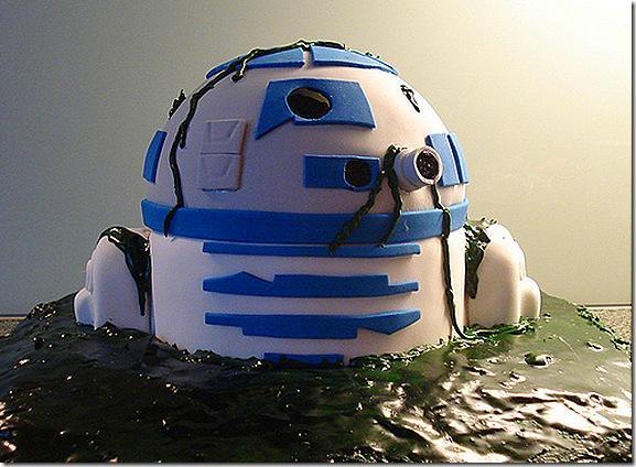 R2d2 Computer Star Wars Kuchen