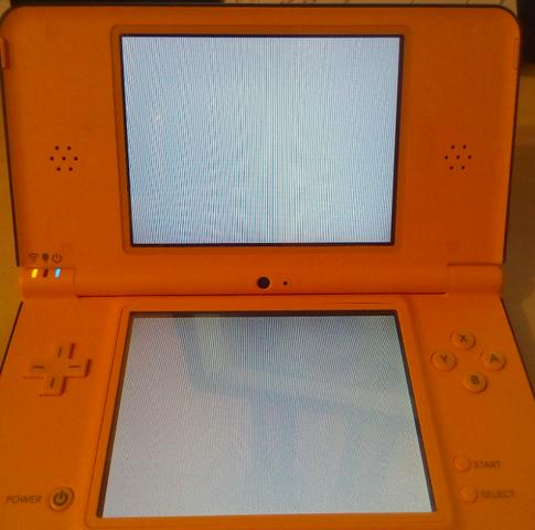 Der Whitescreen (erscheint direkt nach dem Start der R4-Karte) - (Nintendo DS, SD-Karte, Nintendo DSi)