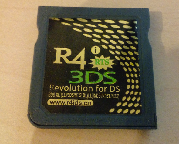 Die R4-Karte ansich - (Nintendo DS, SD-Karte, Nintendo DSi)