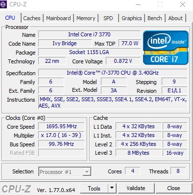 CPU-Z Werte - (Grafikkarte, PC-Hardware, rx 480)